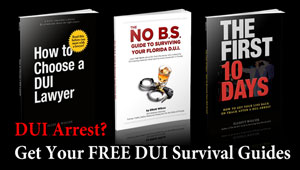 Tampa DUI lawyer Elliott Wilcox provides free DUI survival guides.