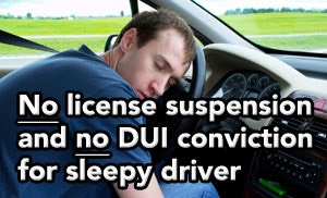 Tampa DUI lawyer helps client avoid DUI and DHSMV license suspension
