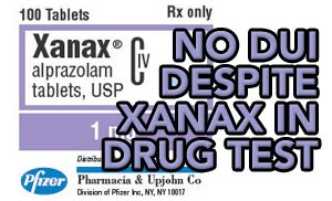 Tampa DUI lawyer helps client accused of xanax-related DUI case avoid a DUI conviction.