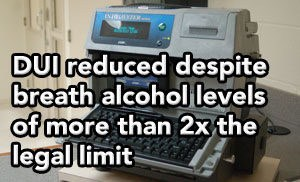 Tampa DUI lawyer Elliott Wilcox gets DUI reduced despite breath levels TWO TIMES the legal limit.