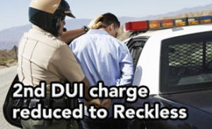 Tampa DUI lawyer Elliott Wilcox got this 2nd DUI charge reduced to Reckless Driving