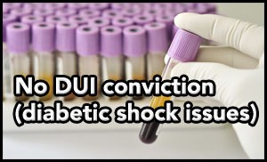 Diabetic shock issues affect Tampa DUI case