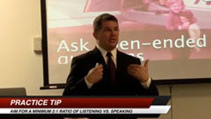 Tampa DUI lawyer Elliott Wilcox teaching other criminal defense lawyers how to pick a jury