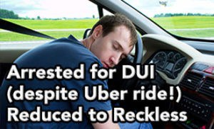 Tampa DUI lawyer Elliott Wilcox gets Uber DUI reduced to Reckless Driving